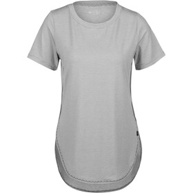 tentree Cascade T-Shirt Dames, gargoyle grey micro stripe